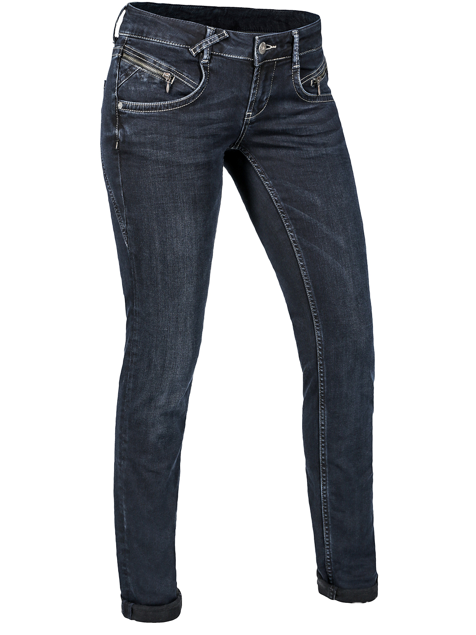 b5f3ccaf9c5128 MOD Damen Jeans Maria Slim Calabria Black kaufen - JEANS-DIRECT.DE