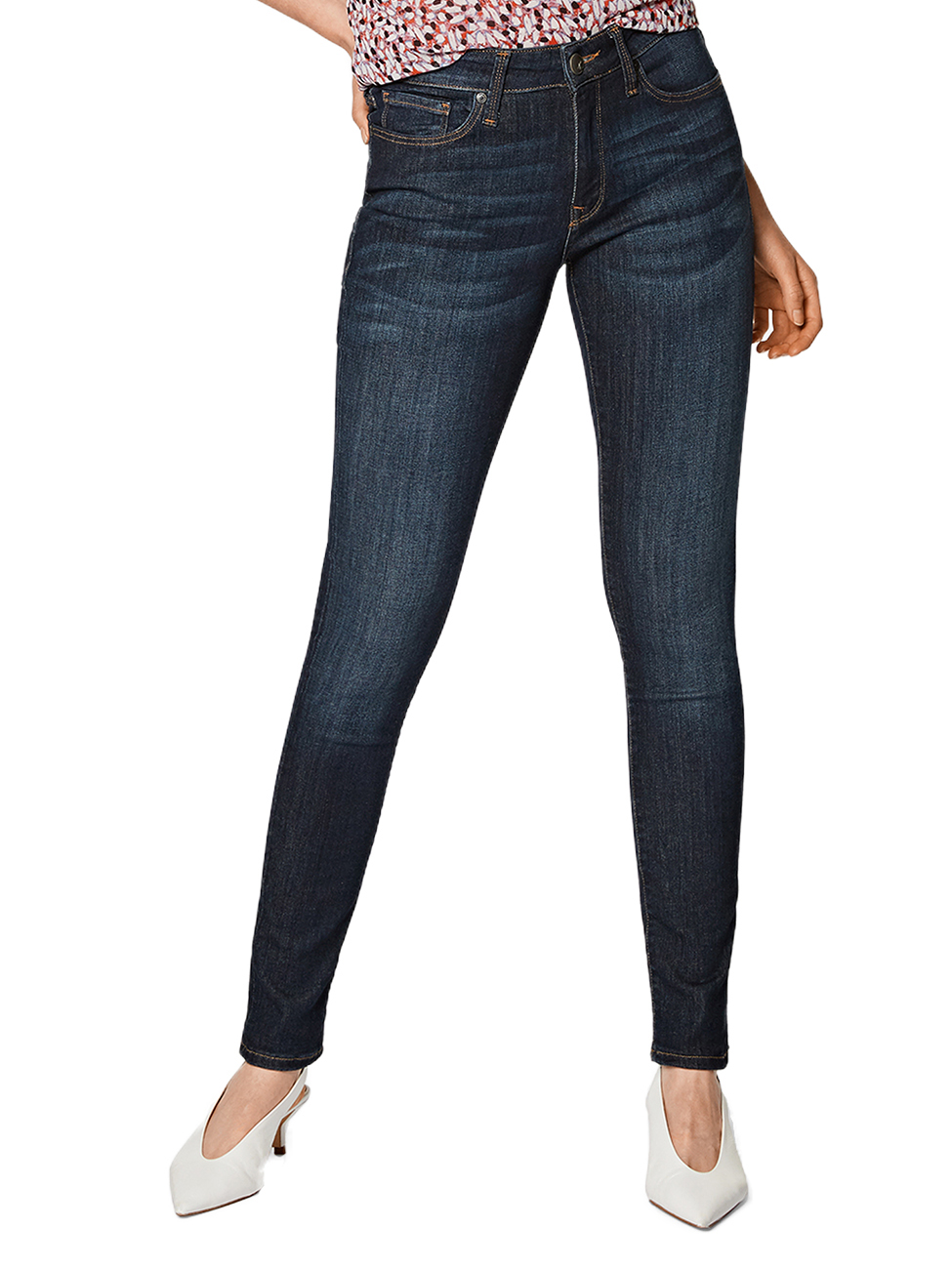 Lee Damen Jeans Scarlett Slam Damage Blau Skinny Fit