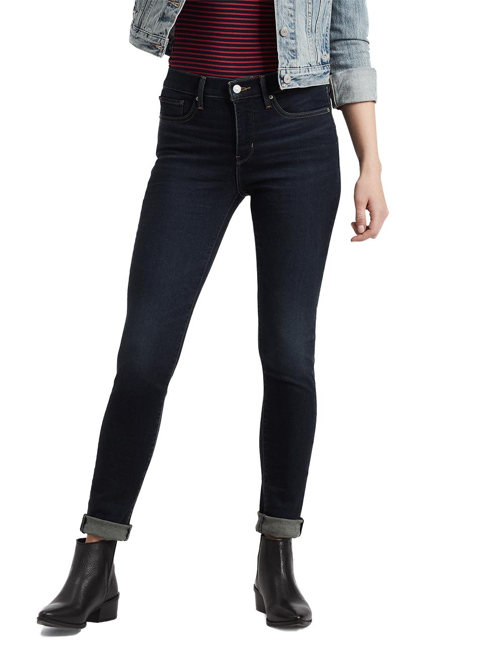 Levis® Damen Jeans 311 Shaping Skinny Fit Blau London Nights