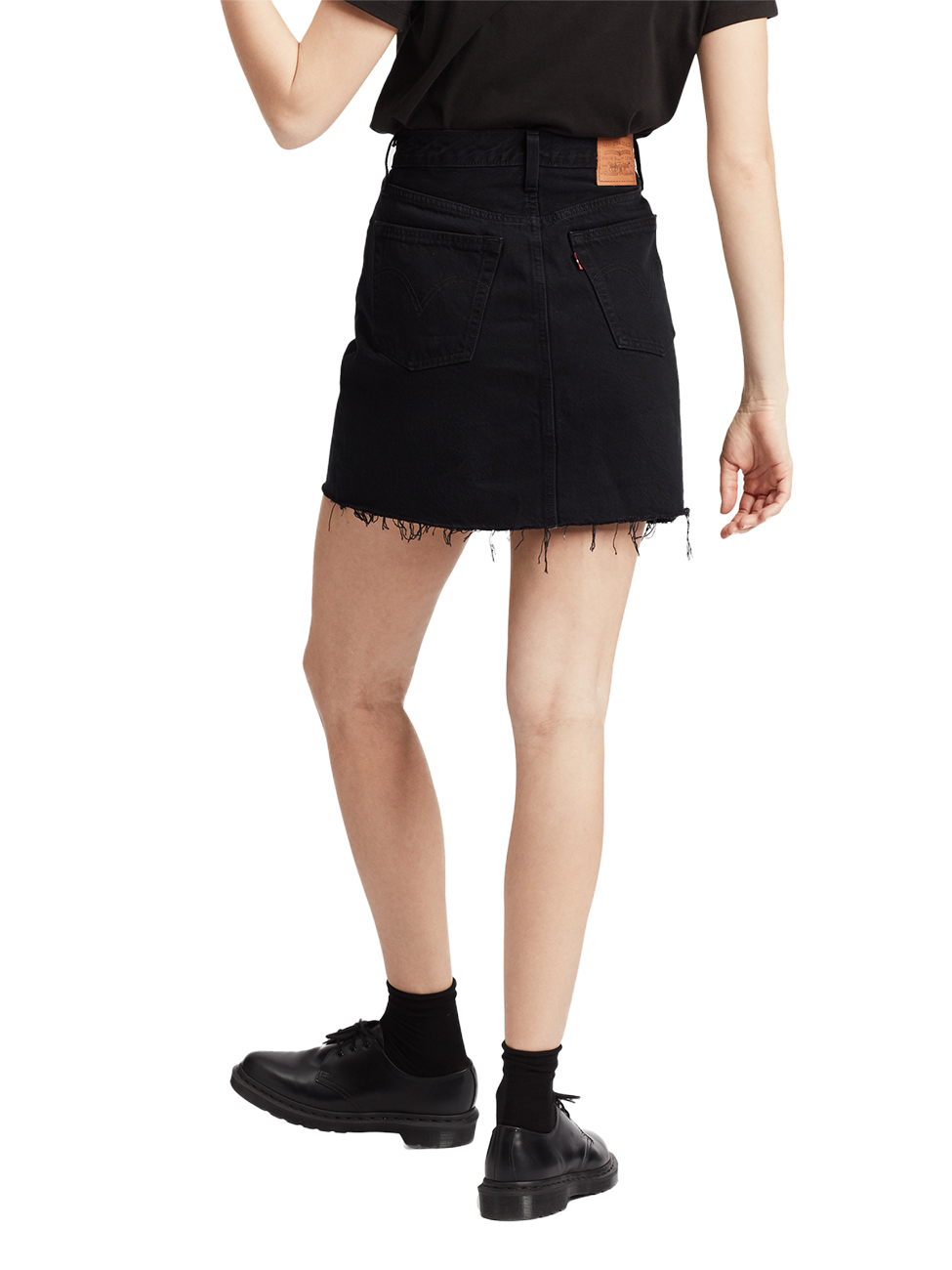 levis-damen-jeansrock-deconstructed-skirt