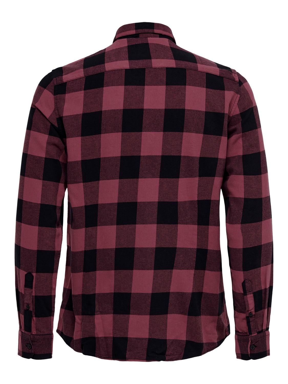 only-sons-herren-freizeithemd-onsgudmund-ls-checked-shirt