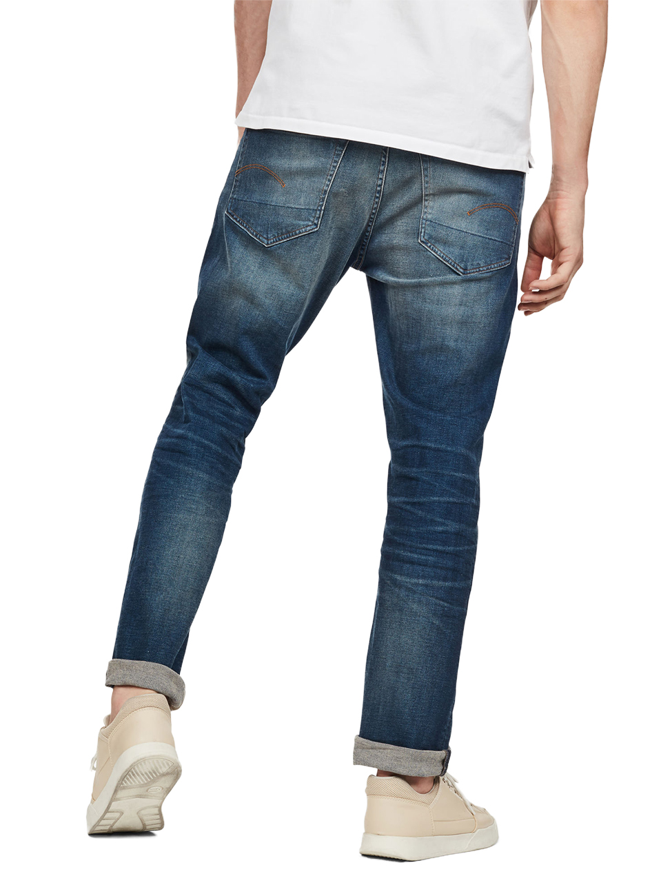 g-star-herren-jeans-3301-straight-fit-blau-worker-blue-faded