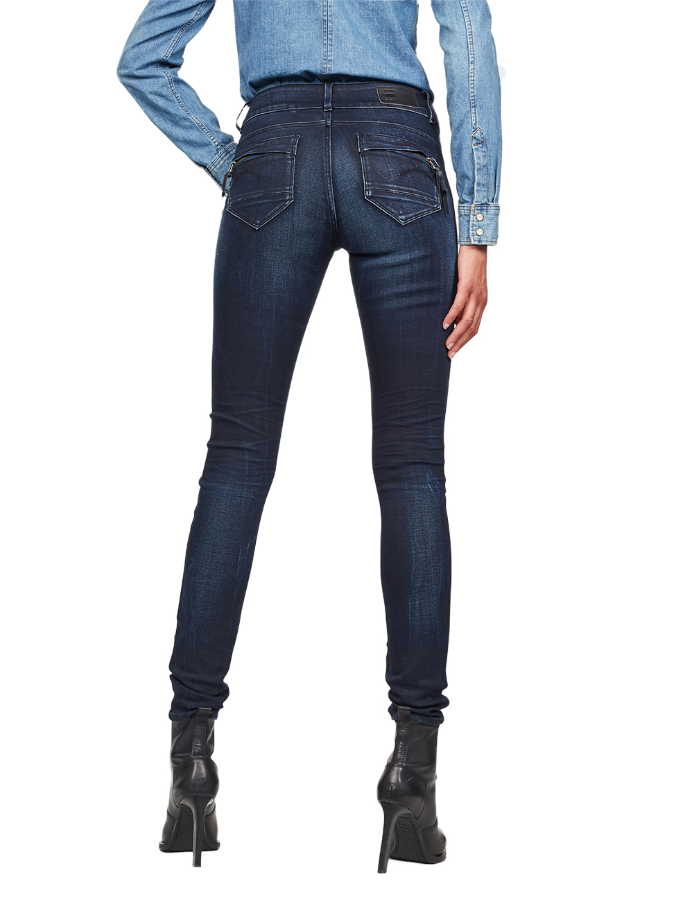 g-star-damen-jeans-midge-cody-mid-skinny-fit-blau-faded-blue