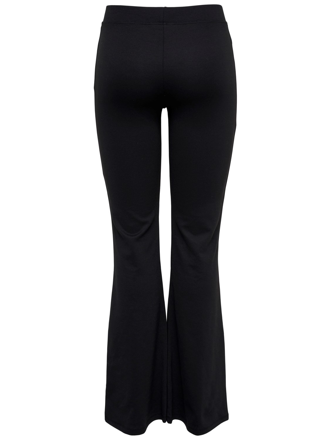 only-damen-hose-onlfever-flaired-pants-flared-fit-schwarz-black