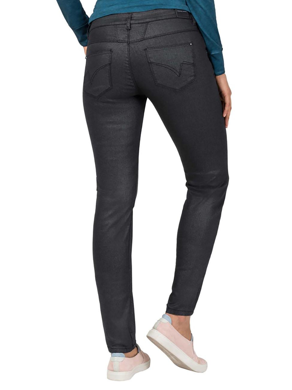 timezone-damen-jeans-sadetz-slim-fit-schwarz-black-shiny-wash