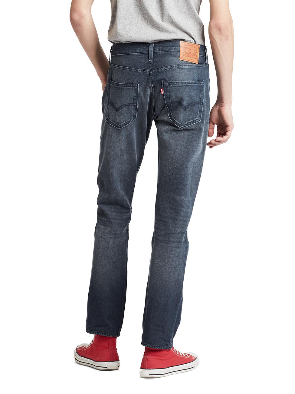 Levis® Herren Jeans 501® Original Fit Blau Space Money
