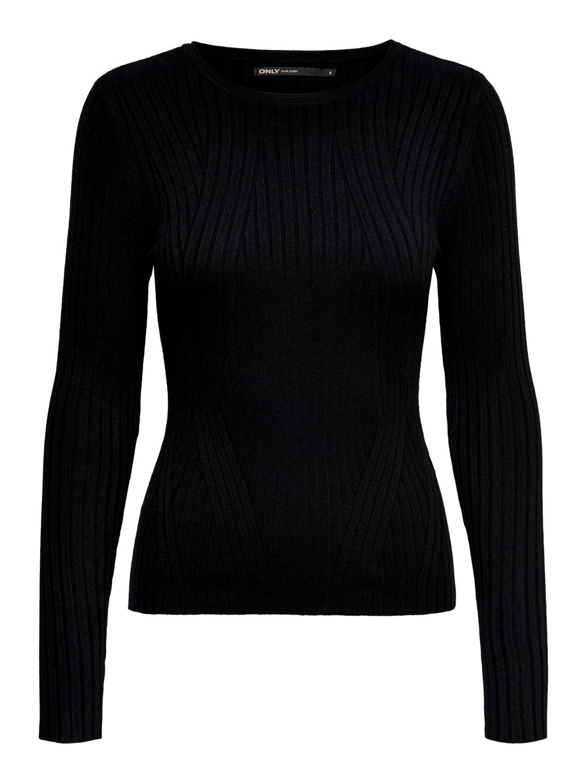 only-damen-langarm-rundhals-pullover-strick-onlnatalia-l-s-rib