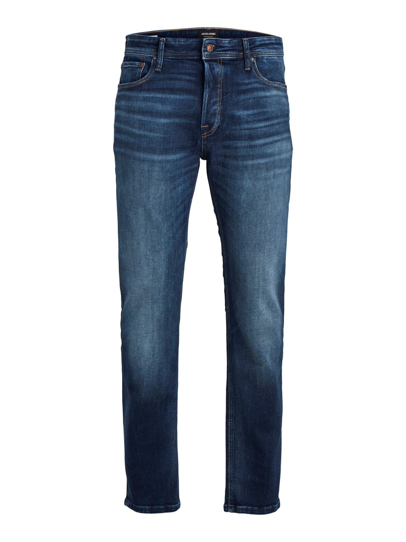 Jack & Jones Herren Jeans JJIMIKE JJORIGINAL JOS 311 - Slim Fit - Blau - Blue Denim