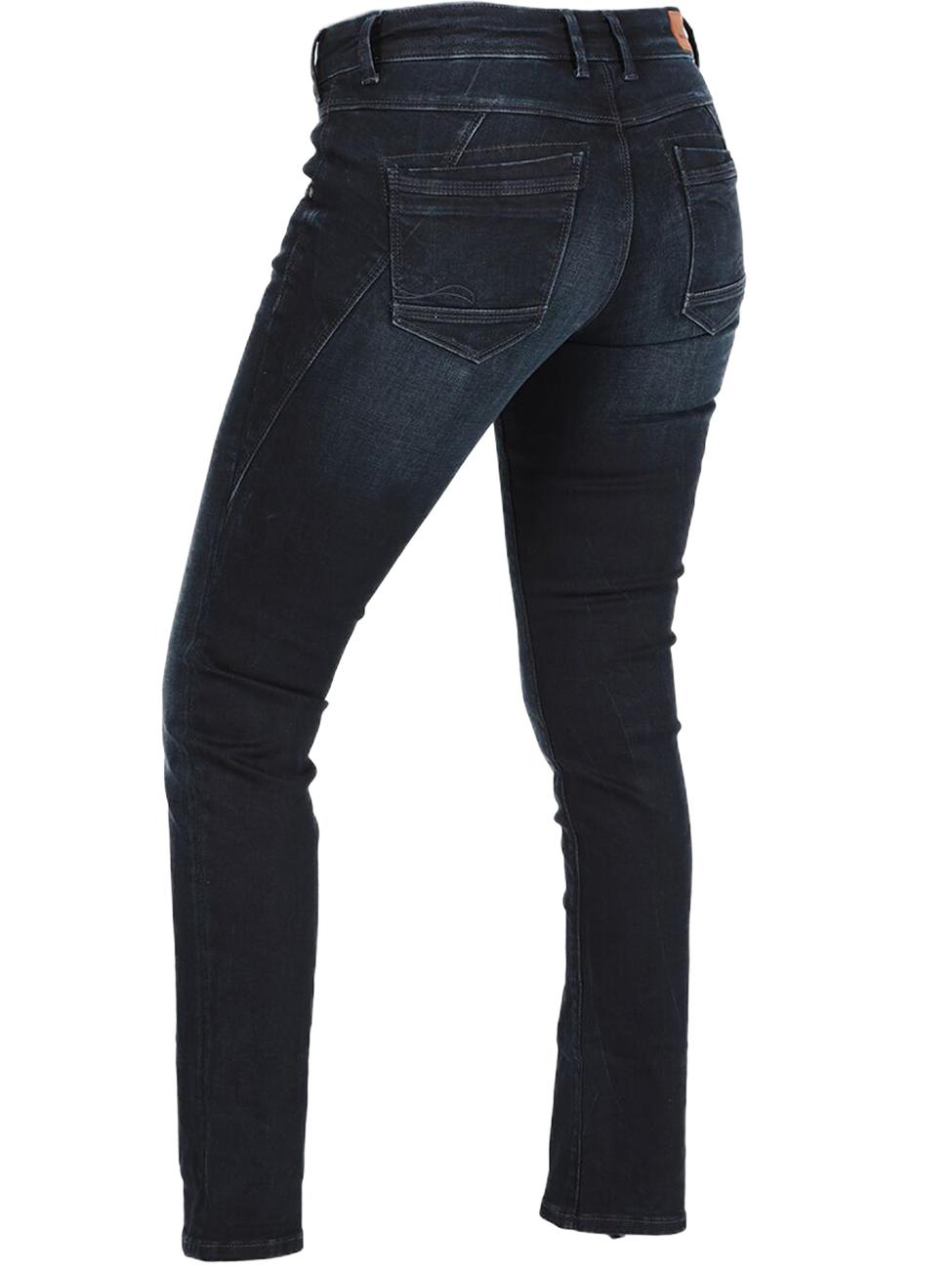 MOD Damen Jeans Rea Regular Fit Blau Elegant Blue