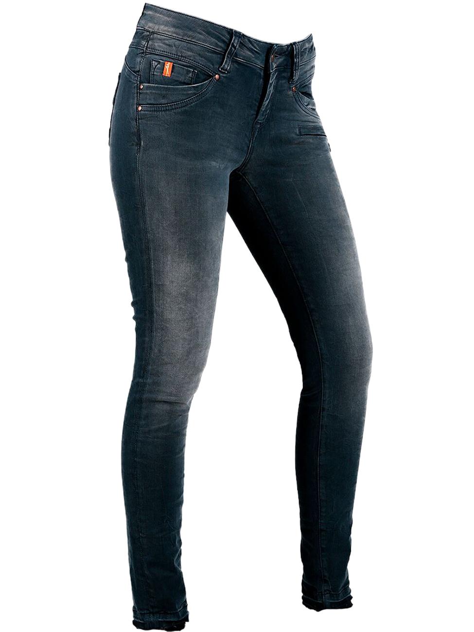 MOD Damen Jeans Suzy Skinny Fit Blau Osman Blue