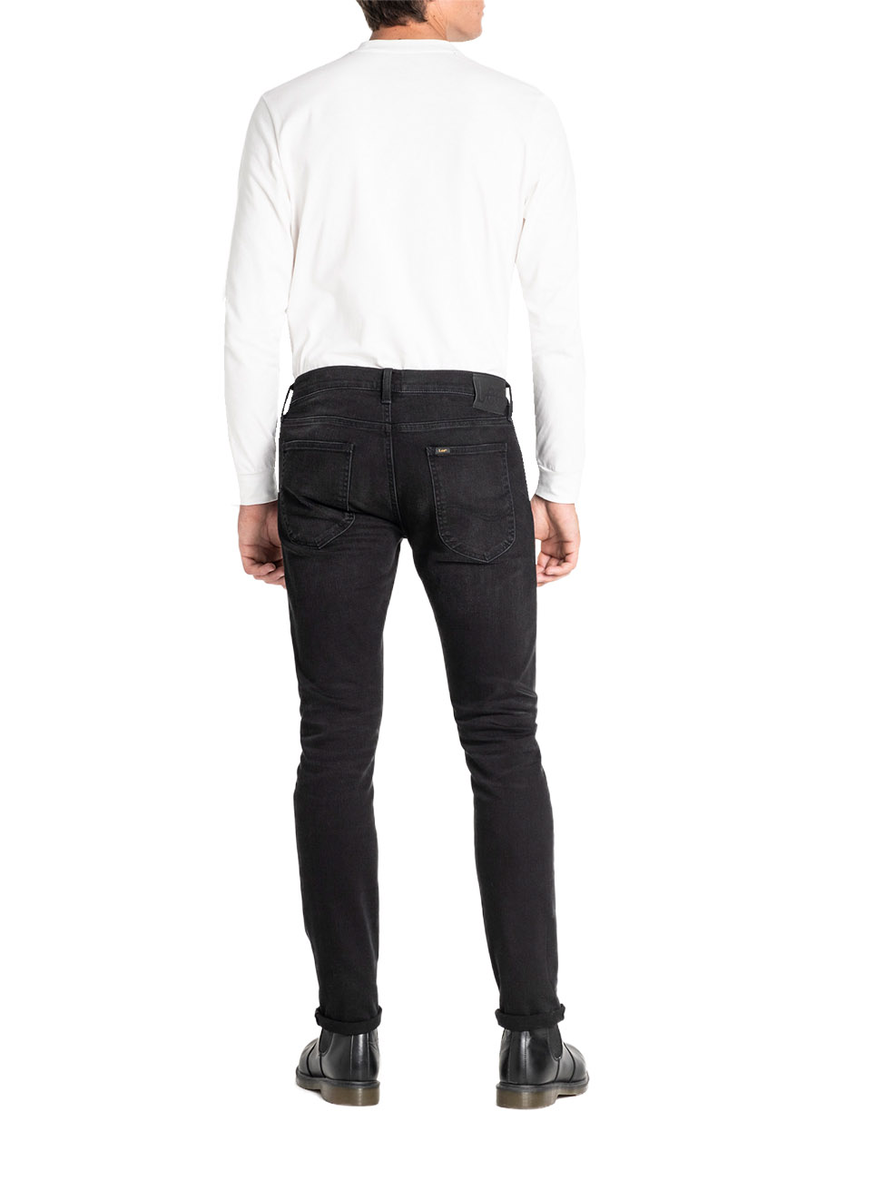 lee-herren-jeans-jeanshose-stretch-denim-luke-slim-tapered-fit-schwarz-moto-black