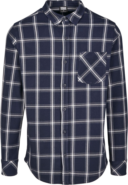 Urban Classics Herren Freizeithemd Holzfäller Kariert Basic Check Shirt
