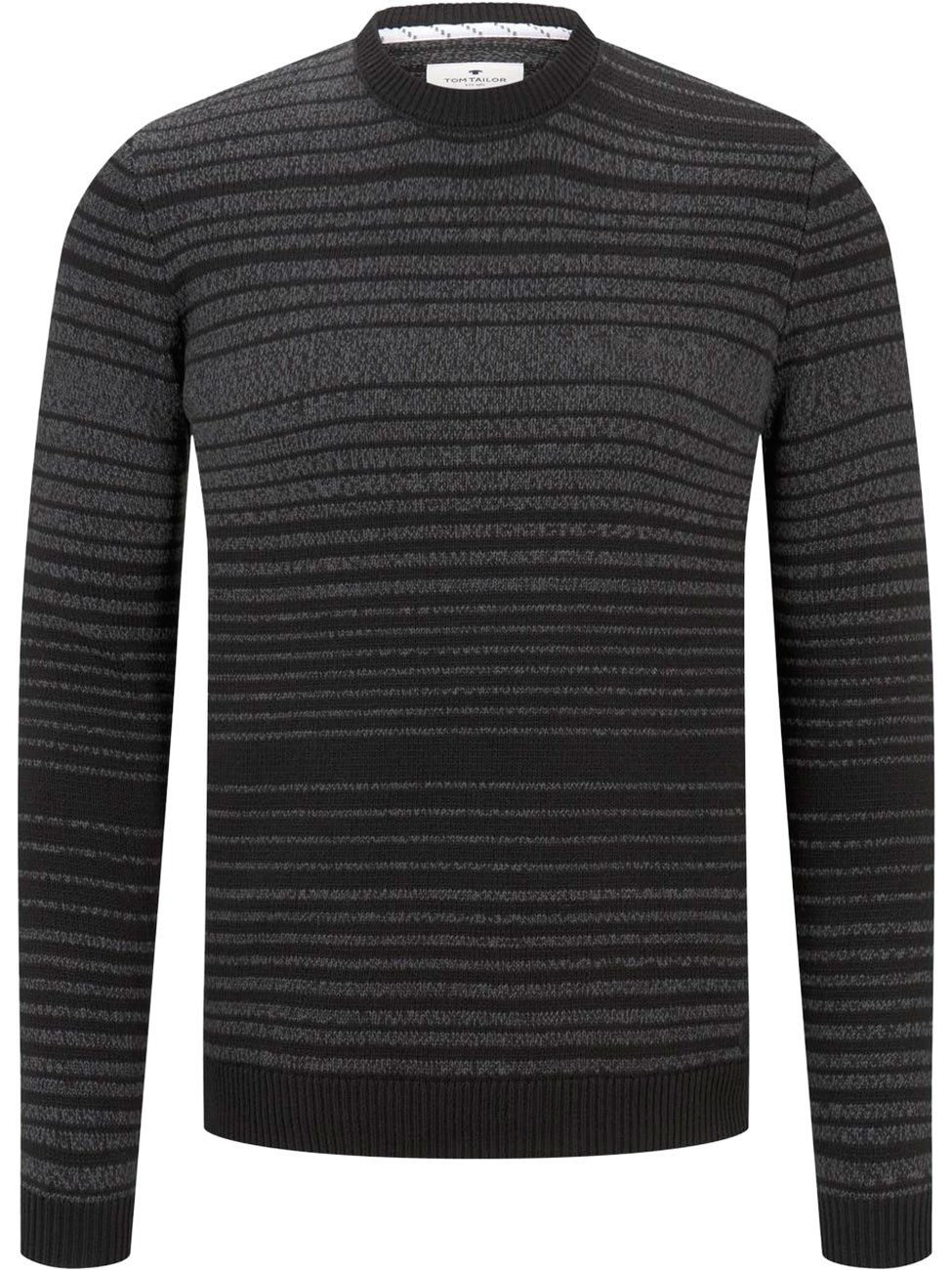 tom-tailor-herren-rundhals-strickpullover-mit-streifen-regular-fit