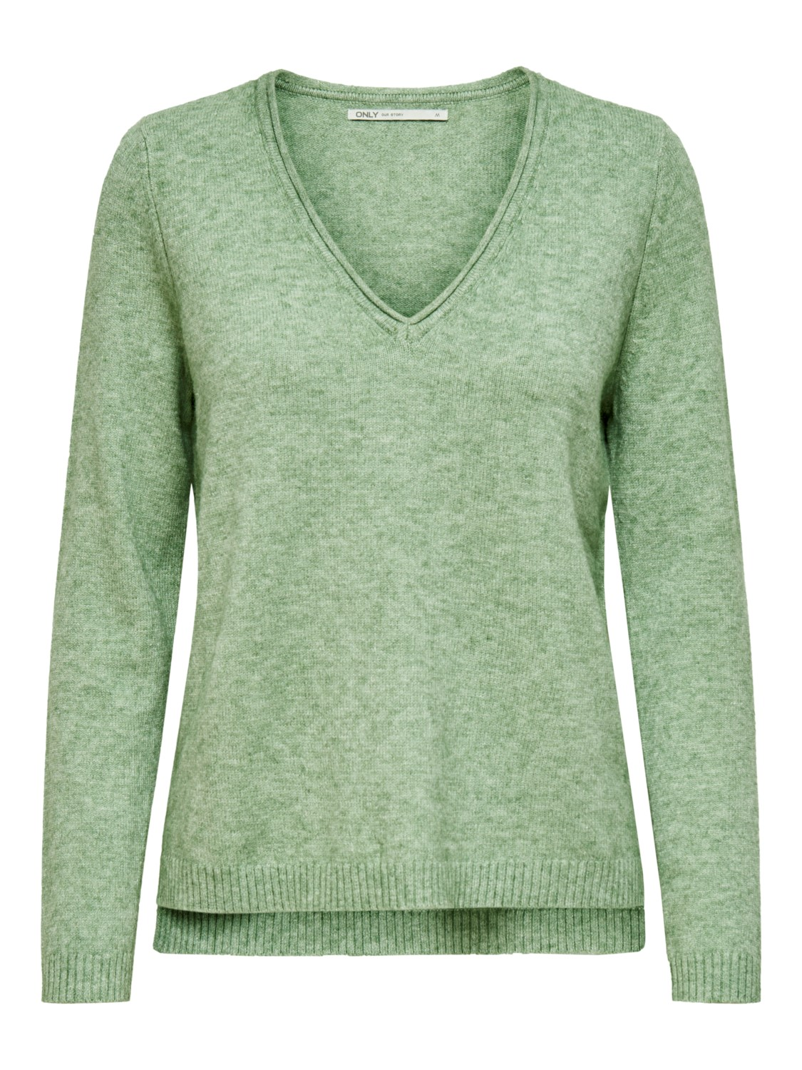 only-damen-pullover-strickpullover-onllesly-new-v-neck-pullover