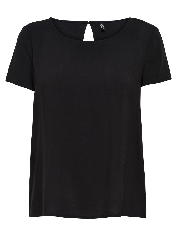 only-damen-kurzarm-t-shirt-onlfirst-one-life-ss-solid