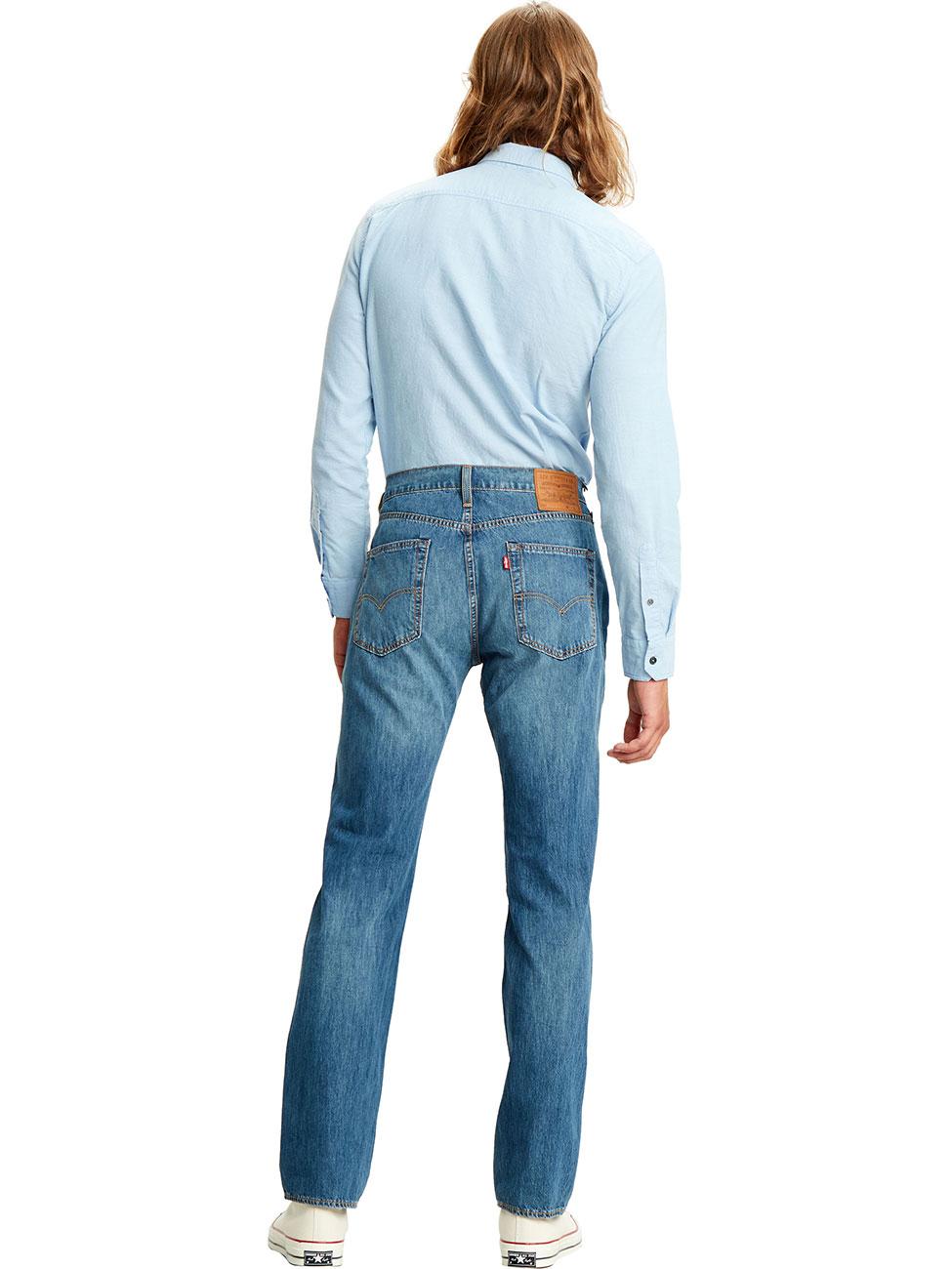 Levis® Herren Jeans 514™ Straight Fit Blau Matcha Green Cool