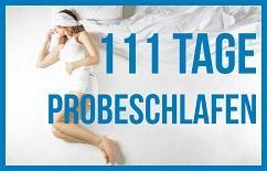 111 Tage Probeschlafen