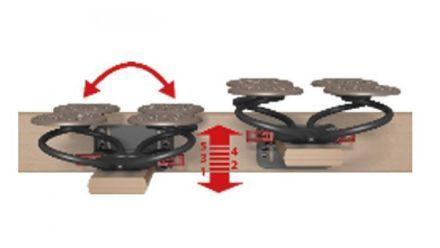 Grosana Tellerrost Airflex AO-M2 Unterfederungen motorisch verstellbar – Bild 4