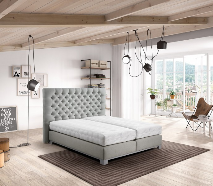velda boxspringbett varius ohne matratze kopfteil w hlbar bettgestelle polsterbetten. Black Bedroom Furniture Sets. Home Design Ideas