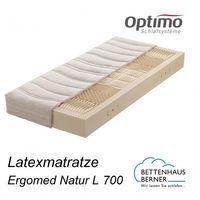 Optimo Natur Latexmatratze Ergomed Natur L 700 Optimo Schlafsysteme
