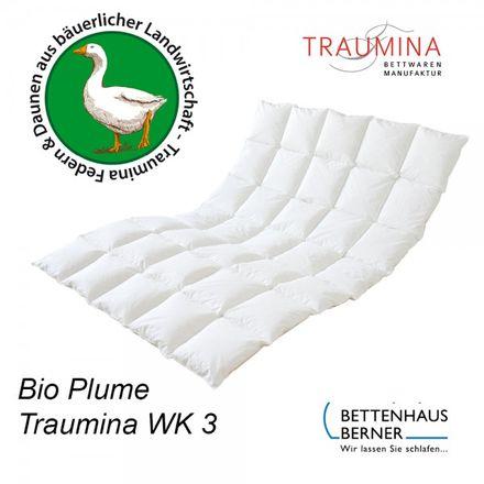 Traumina Bio-Daunendecke Plume Ganzjahresdecke WK3  – Bild 1