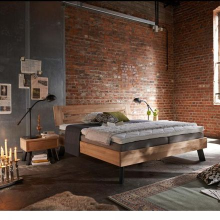 Tjoernbo Bett Modern Sleep Kopfteil B Füsse B – Bild 1