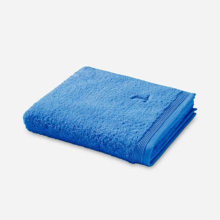 Möve Superwuschel Handtuch blau cornflower einfarbig 410 verschiedene Größen – Bild 1