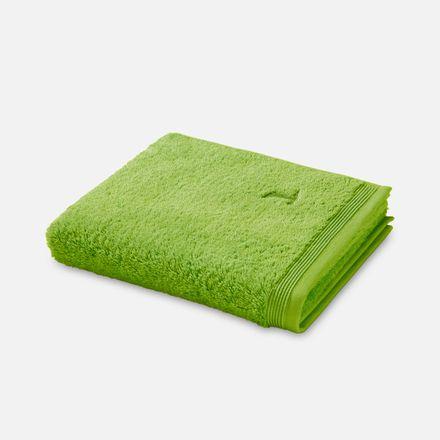 Möve Handtuch Superwuschel grün peridot einfarbig 658 verschiedene Größen – Bild 1