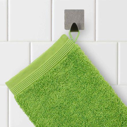 Möve Handtuch Superwuschel grün peridot einfarbig 658 verschiedene Größen – Bild 5