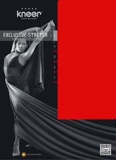 Kneer Spannbetttuch Exclusive Stretch Q93 für Boxspring bis 40 cm – Bild 1
