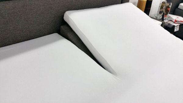kneer spannbetttuch vario stretch q 22 oneflex f r topper. Black Bedroom Furniture Sets. Home Design Ideas