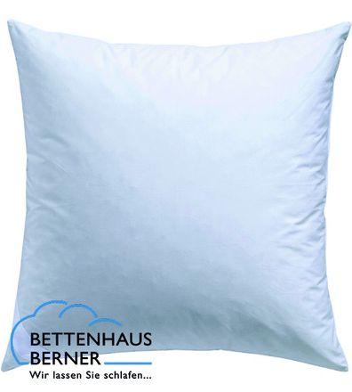 Kopfkissen Silber 70% Federn 30% Daunen Bettenhaus Berner – Bild 1