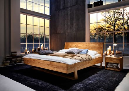 MM Collection Bett Trento Massivholz