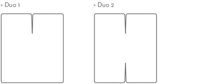 Formesse Spannbetttuch Bella Gracia Duo 1 Split Sonderanfertigung – Bild 3