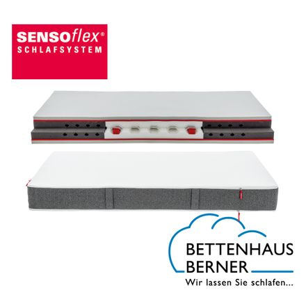 Sensoflex 700 Matratze Rummel metallfreier Federkern Jerseybezug 2550 – Bild 1