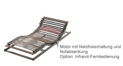 Motor-Lattenrost Carus 700 elektrisch verstellbar Optimo – Bild 1