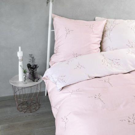 Zeitgeist Ibena Satinbettwäsche rosa Blumen 5877/500 – Bild 1