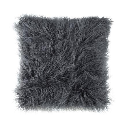 Sofakissenbezug Proflax Oscar Fellimitat grey 45x45 cm – Bild 1