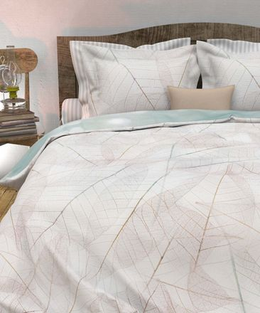Heckett&Lane Mako Satin Bettwäsche Annalisa Morning Natural – Bild 4
