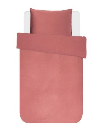 Essenza Mako Satin Bettwäsche Minte Dusty Rose