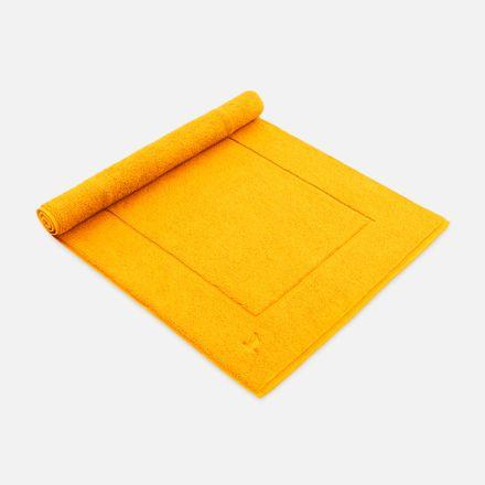Badteppich gelb gold einfarbig Möve verschiedene Größen – Bild 1