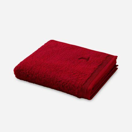 Möve Superwuschel Handtuch dunkelrot ruby einfarbig 075 verschiedene Größen