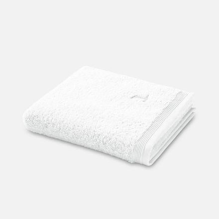 Möve Superwuschel Handtuch weiss snow einfarbig 001 verschiedene Größen – Bild 1