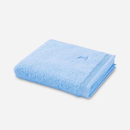 Möve Superwuschel Handtuch hellblau aquamarine einfarbig 577 verschiedene Größen