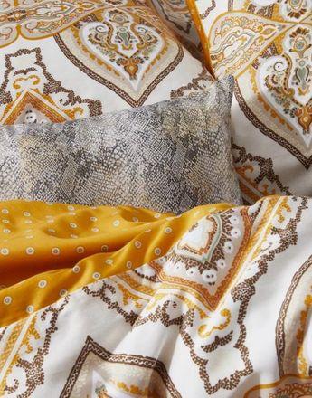 Essenza Mako Satin Bettwäsche Penelope Duvet Cover Senfgelb – Bild 2