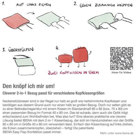 s.Oliver 2-in-1 Kombibettwäsche Karo grau / rosa – Bild 4