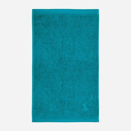Möve Superwuschel Handtuch lagoon petrol einfarbig 458 verschiedene Größen – Bild 4