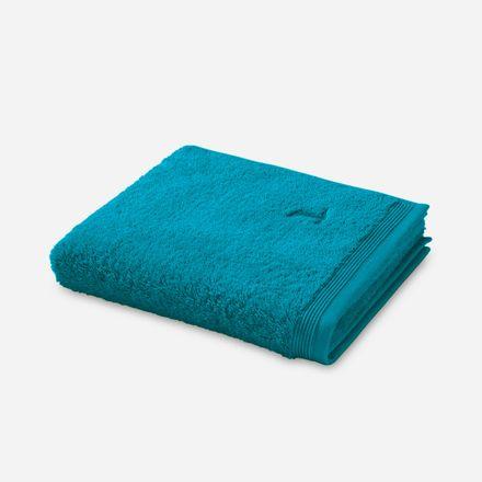 Möve Superwuschel Handtuch lagoon petrol einfarbig 458 verschiedene Größen – Bild 1