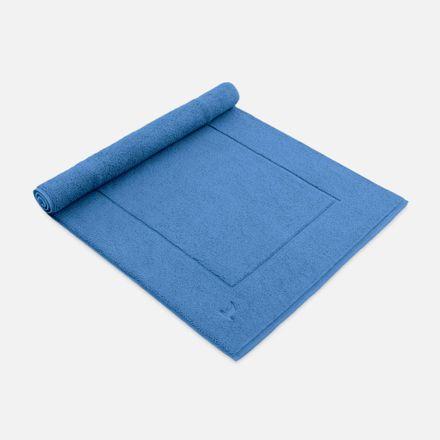 Badteppich blau cornflower einfarbig Möve verschiedene Größen – Bild 1