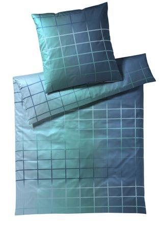 Elegante Satinbettwäsche Chart - Saphir *155x220 cm* – Bild 2